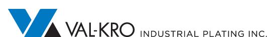 Val-Kro INdustrial Plating