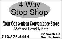 4-Way Stop Shop