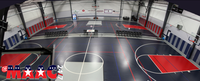 All of our fitness members also have access to our basketball courts / gymnasium.